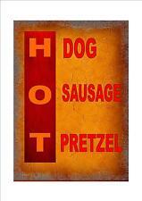American Retro Estilo Hot Dog Sign de Nueva York New York signo Cafe signo de restaurante