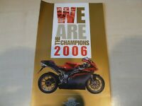MV Agusta Prospekt 2006 gold Champions Husquarna Cagiva