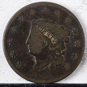 1831 Coronet Large Cent G Large Letters