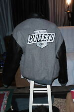 """LA Bullets"" Leather/Wool Team Jacket Great Image Field Hockey (2XL)"