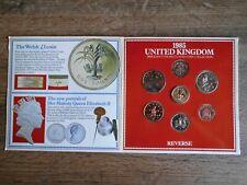 UNITED KINGDOM - SET 1985 - BRILLANT UNCIRCULATED COINS