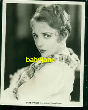 BEBE DANIELS VINTAGE 8x10 PHOTO FIRST NATIONAL & VITAPHONE PICTURES PORTRAIT
