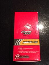 Planet Bike Glueless Patch Kit 32 Pack Patches Bicycle Tire Puncture Fix Kit