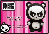 "PRODUCT TYPES--Angry Panda - 10"" Plush"