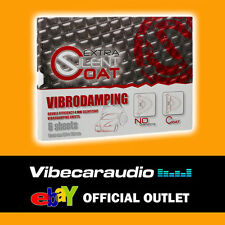 Silent Coat Extra Door Kit Vibrodamping Sound Deadening 6 Sheets 4mm 375 x 265mm