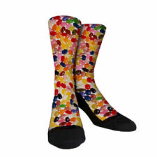 Jelly Beans Custom Crew socks unisex Easter novelty