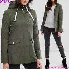 Womens Rain Mac Showerproof Raincoat Ladies Jacket Size 8 10 12 14 16 Yellow NEW