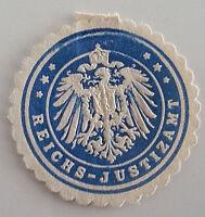 Siegelmarke Vignette Reichs Justizamt (7341)