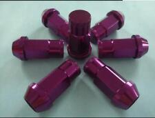 100 New Purple Tuner Lug Nuts 12x1.5 Closed End