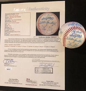 1983 New York Yankees Signed Baseball! JSA COA Yogi Berra, Winfield, Guidry, etc