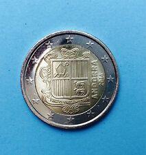 die ERSTE 2 Euro Kursmünze aus dem Zwergstaat ANDORRA 2014 aus Euro-KMS ***RAR**
