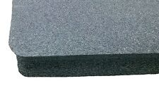 Pelican 1750 Replacement foam. Black 2lb Mil spec cross link foam 1 middle piece