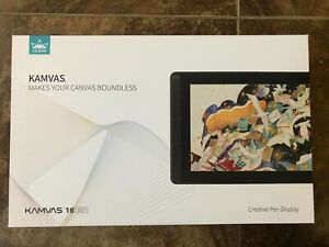 New - 2021 HUION KAMVAS 16 Graphics Drawing Tablet Full-Laminated FREE SHIPPING!