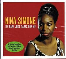 NINA SIMONE - MY BABY JUST CARES FOR ME - 40 ORIGINAL RECORDINGS -NEW SEALED 2CD