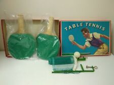 Vintage Spears Games Table Tennis set in Box Vintage Net Bats & Ball
