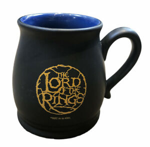 Official Lord Of The Rings Mug Black