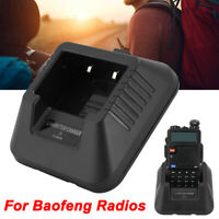 Walkie Talkie Desktop Li-ion Battery Charger for Baofeng UV-5R Two Way Ham Radio