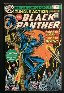 JUNGLE ACTION BLACK PANTHER 21 KEY VS KKK ISSUE STAN LEE MARVEL STAMP V 2 1 COPY