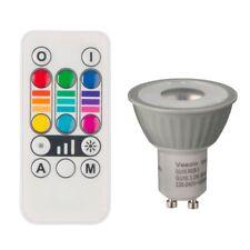 Veezio GU10 MR16 LED Reflector Spot Light Bulb with 768 colours