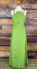 NEU! SHE Damen Gr. 38 langes Kleid Grün Abend Cocktail Crash Dress Träger #305