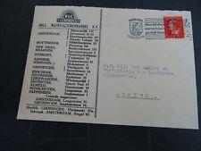 Nederland 334 op brief vd Werff & Co verzonden binnen Groningen 1946