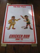 CHICKEN RUN POSTER 27 x 40 - DBL SIDE ADV - RAT PACK