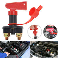 Universal Battery Isolator Switch Cut Off Kill Switch 12V Car Boat Van Truck