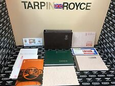 1979-80 Rolls Royce Corniche Owners Manual Bentley Continental TSD4323 #LA0FT