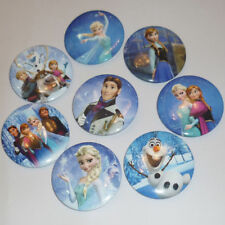 Christmas 10 FROZEN badges Pins Elsa Anna Olaf Sven party Goody bag fillers
