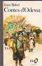 Isaac Babel - Contes d'Odessa - 1979 Folio - Tibor Csernus - 9/04