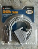 36 INCH DB9//DB25 NULL MODEM CABLE P//N A00310003-003F