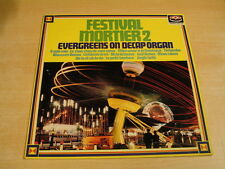 FESTIVAL MORTIER 2 - EVERGREENS ON DECAP ORGAN / ORGAN ORGUE ORGEL LP