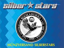 1 oncia d'argento Kookaburra 1996 PRIVY Germania 1 $ Australia