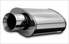 """Magnaflow 14828 SS Race Series Oval Muffler w/ Tip - 3"""" IN / 4"""" Out - Turbo/NOS"""