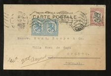 FINLAND to PORTUGAL 1922 POST CARD