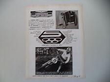 advertising Pubblicità 1972 AERMACCHI HARLEY DAVIDSON 125 RC