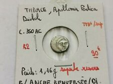 superbe diobole argent Apollonia Pontica , Thrace !