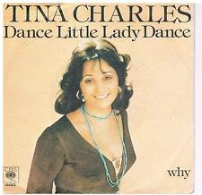 "Tina Charles-Dance little lady dance/Why/7"" Single von 1976"