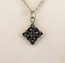 "pendant on 20"" chain Stainless Steel Celtic Knot"