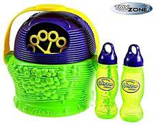 Seifenblasenmaschine inkl. Flüssigkeit Bubble Machine Seifenblasen Kinder Party