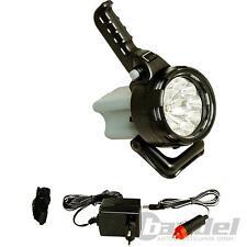 3 IN 1 LED-AKKUSCHEINWERFER H3/15W-HALOGENLAMPE 6V/4Ah AKKU
