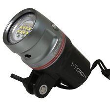 iDas i-Torch Venom 50 underwater Dive Torch Photo Video Light 5000 Lumens