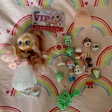 EXCLUSIVE SHOPPIE & SHOPKINS BRIDIE Doll From SUPER SHOPPER Pack Bride Glitter