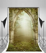 Fairy Forest Gate 5x7ft Photography Backdrop Studio Vinyl Photo Background Props