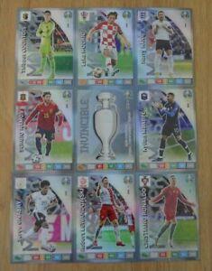 Panini Adrenalyn XL Uefa Euro EM 2020 alle 9 Top Master Rare Karten komplett