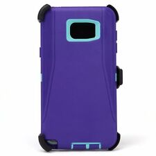 For Samsung Galaxy Note 5 Defender case with Belt Clip Built-in Screen Protector