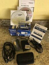 Olympus FE-190 6MP Digital Camera Image Stabilized 3x Optical Zoom Charger Box