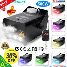Smoke Machine Fog Haze Effect W/Wireless Remote Control Halloween DJ Disco Party
