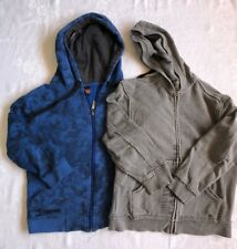 2 x Boys Size 8 Zip Front Hoodie YCC214 and Target Brands Sweatshirt Jumper