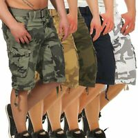 Geographical Norway Herren Cargo Shorts Herrenshorts kurze Hose Panoramique Camo